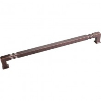 "Jeffrey Alexander, Tahoe, 12"" (305mm) Appliance pull, Distressed Oil Rubbed Bronze"