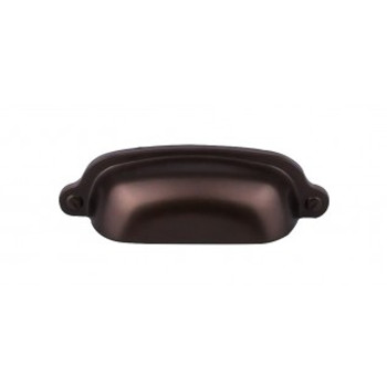 """Top Knobs, Dakota, Charlotte, 2 9/16"""" Cup pull, Oil Rubbed Bronze"""