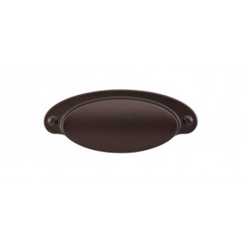 """Top Knobs, Dakota,  2 9/16"""" Cup pull, Oil Rubbed Bronze"""