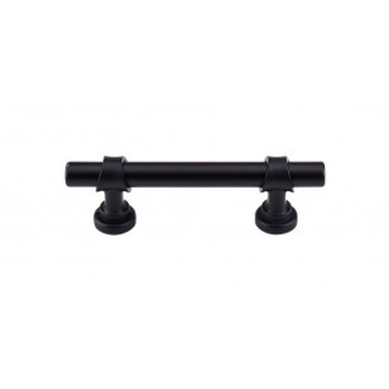 "Top Knobs, Dakota, Bit, 3"" Bar pull, Flat Black"