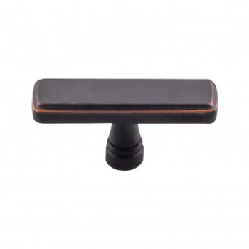"Top Knobs, Devon, Kingsbridge, 2 3/8"" Rectangle knob, Umbrio"
