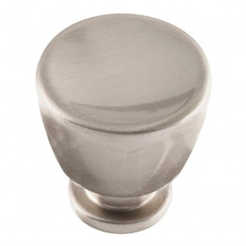 "Atlas Homewares, Conga, 1 1/8"" Round Knob, Brushed Nickel"