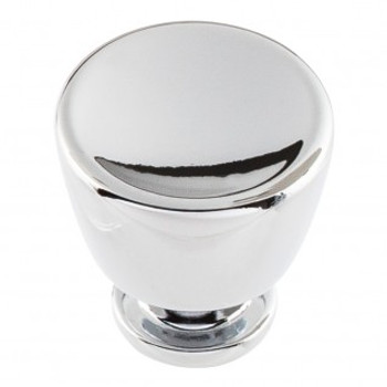 "Atlas Homewares, Conga, 1 1/8"" Round Knob, Polished Chrome"