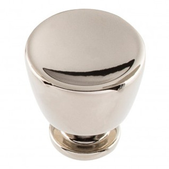 "Atlas Homewares, Conga, 1 1/8"" Round Knob, Polished Nickel"