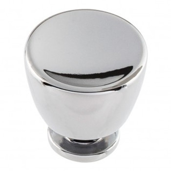 "Atlas Homewares, Conga, 1 1/4"" Round Knob, Polished Chrome"