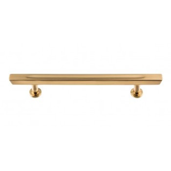 "Atlas Homewares, Conga, 5 1/16"" (128mm) Bar Pull, Warm Brass"