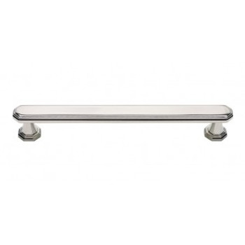 "Atlas Homewares, Dickinson, 6 5/16"" (160mm) Bar Pull, Polished Nickel"