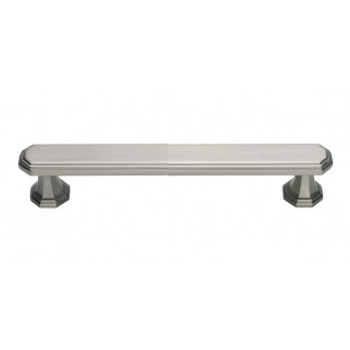 "Atlas Homewares, Dickinson, 5 1/16"" (128mm) Bar pull, Brushed Nickel"