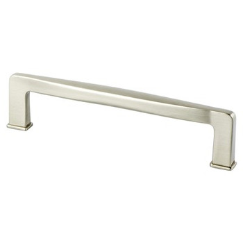 "Berenson, Subtle Surge, 5 1/16"" (128mm) pull, Brushed Nickel"