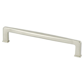 "Berenson, Subtle Surge, 6 5/16"" (160mm) pull, Brushed Nickel"
