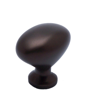 "Berenson, Adagio, 1 1/16"" Oval knob, Oil Rubbed Bronze"