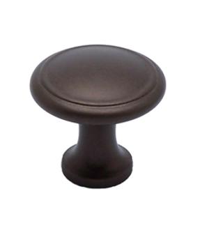 """Berenson, Adagio, 1 3/16"""" Round Knob, Oil Rubbed Bronze"""