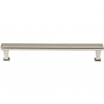 "Alno, Manhattan, 8"" Straight pull, Satin Nickel"