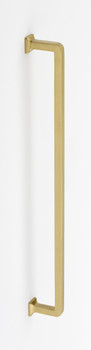 "Alno, Millennium, 18"" Appliance pull, Satin Brass"
