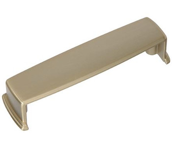 """Amerock, Kane, 3 3/4"""" (96mm) Cup Pull, Golden Champagne"""