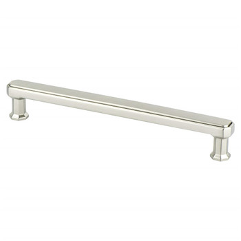 "Berenson, Harmony, 6 5/16"" (160mm) Straight Pull, Brushed Nickel"