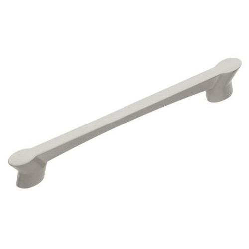 "Belwith Hickory, Wisteria, 5 1/16"" (128mm) Straight pull, Satin Nickel"