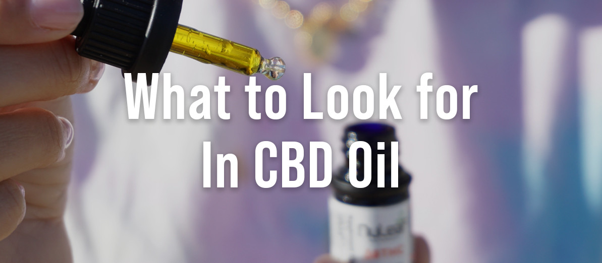 What to Look For in CBD Oil