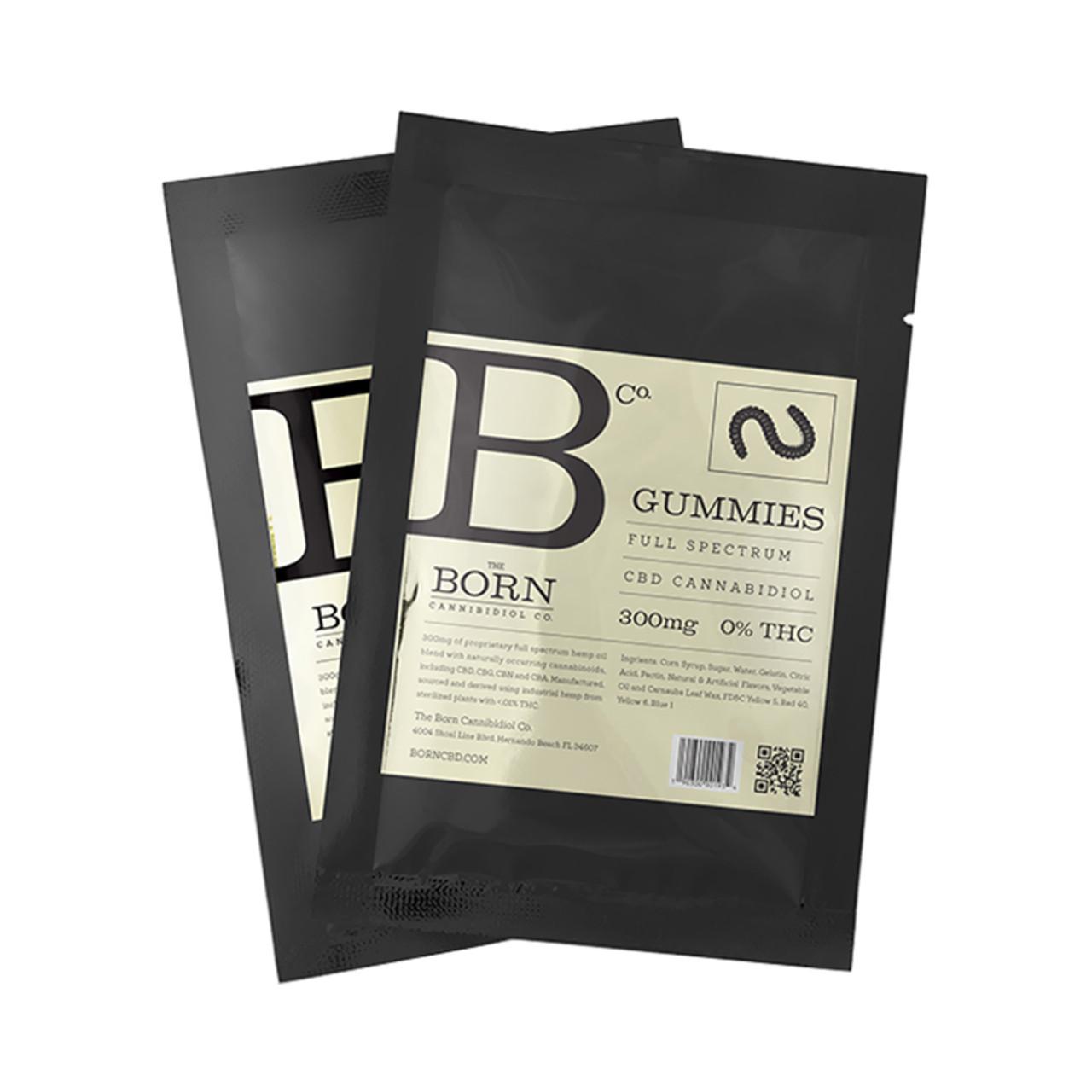 Born Gummies 300mg by The Born Cannabidiol Co