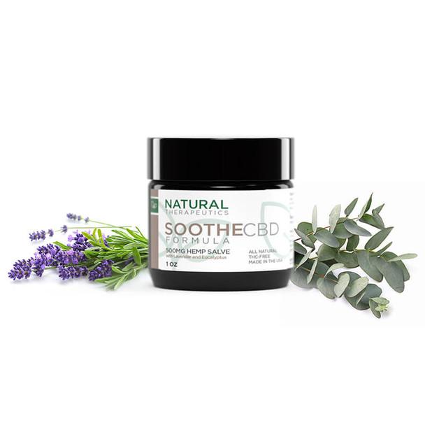 Natural Therapeutics - CBD Topical - Soothe Salve - 500mg