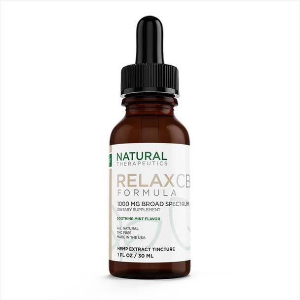 Natural Therapeutics - CBD Tincture - Relax - 1000mg