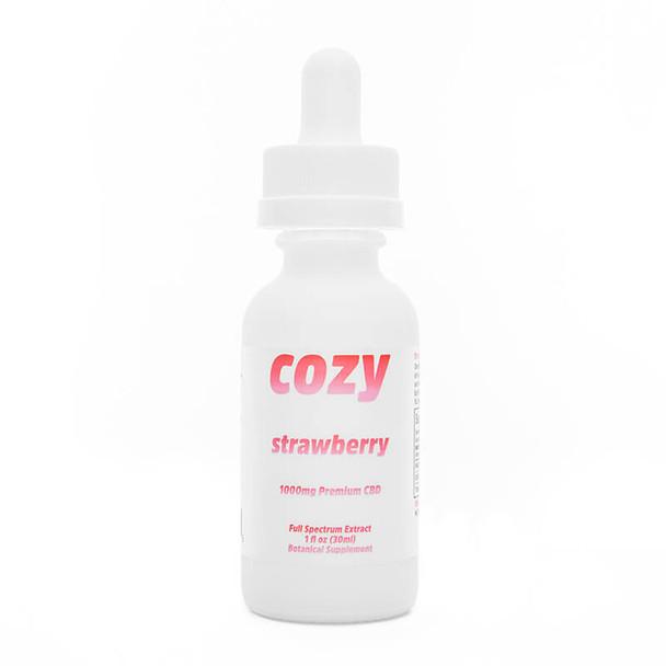 Cozy - CBD Tincture - Strawberry - 1000mg