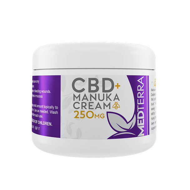 Medterra - CBD Topical - Manuka Cream - 250mg