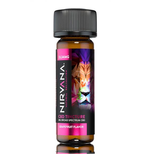 Nirvana - CBD Dram Tincture - Grapefruit - 33mg