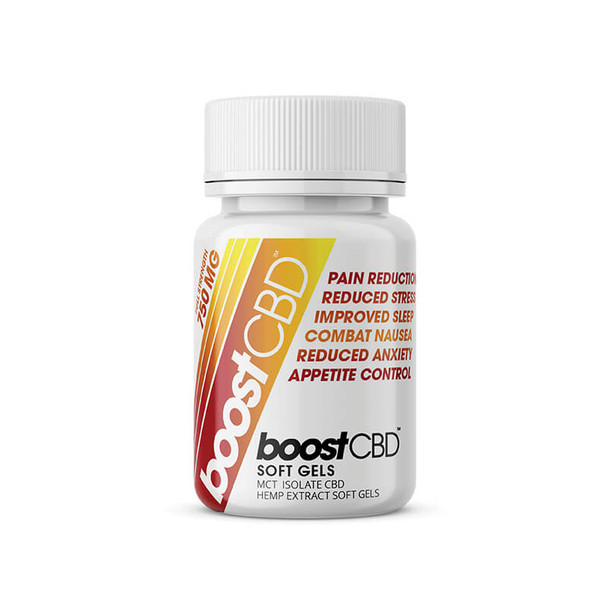 BoostCBD - CBD Soft Gel - 25mg