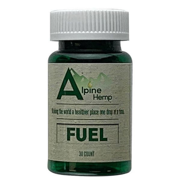 Alpine Hemp - CBD Capsule - Fuel - 20mg