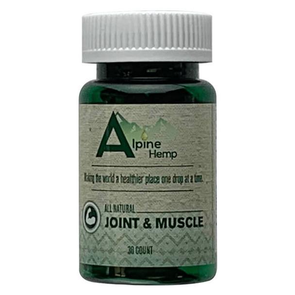 Alpine Hemp - CBD Capsule - Joint and Muscle - 20mg