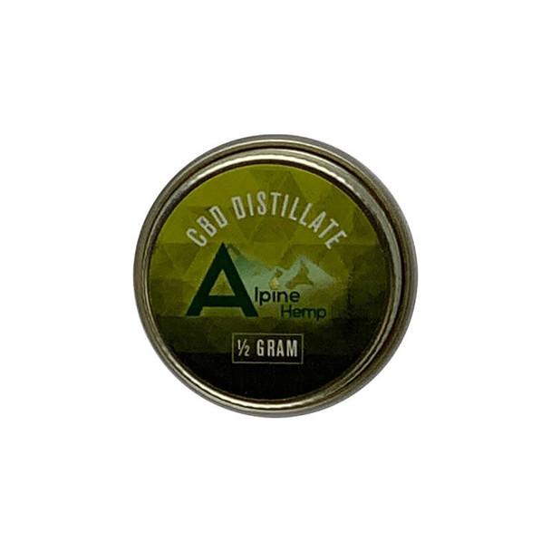 Alpine Hemp - CBD Concentrate - Distillate - 0.5g-1g