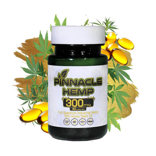 Pinnacle Hemp - CBD Capsule - Full Spectrum - 10mg