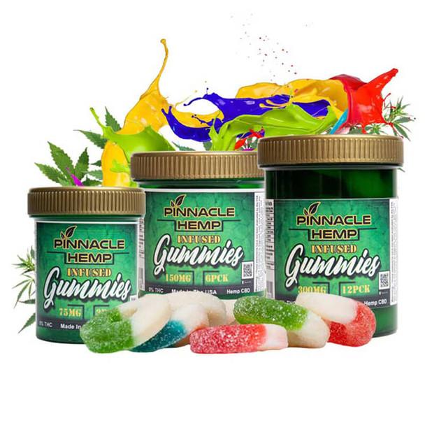 Pinnacle Hemp - CBD Edible - Infused Gummies - 25mg