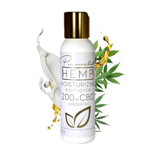 Pinnacle Hemp - CBD Topical - Unscented Body Lotion - 200mg