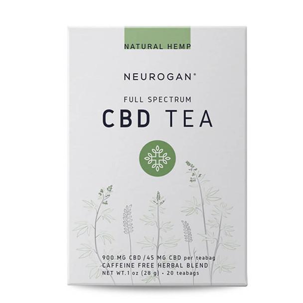 Neurogan, Inc. - CBD Drinks - Full Spectrum Natural Hemp Tea - 45mg