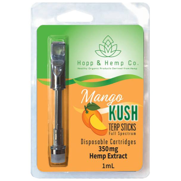 Hopp And Hemp Co - CBD Cartidge - Full Spectrum Mango Kush - 350mg