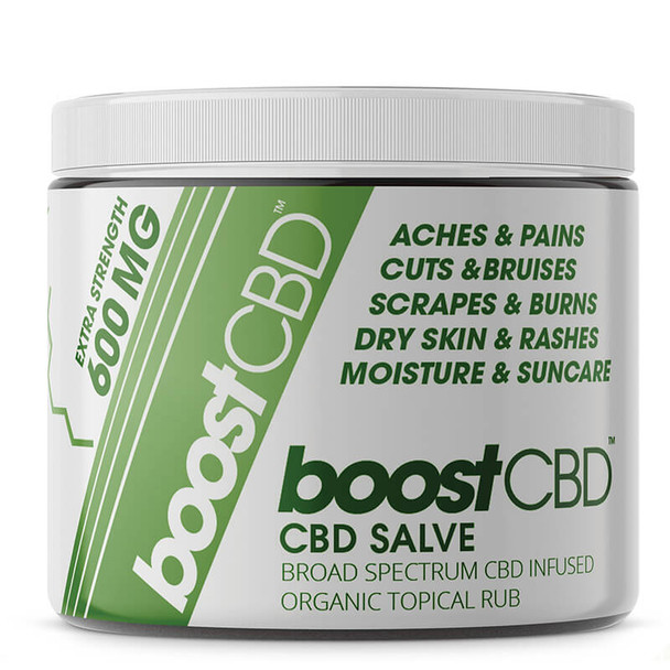 BoostCBD - CBD Topical - Max Strength Infused Salve - 4oz