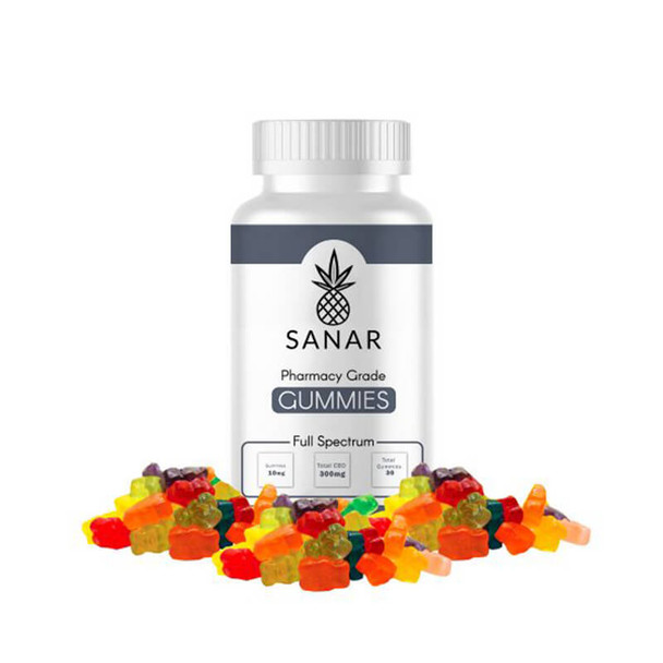 Sanar - CBD Edible - Full Spectrum Gummies - 10mg-30mg