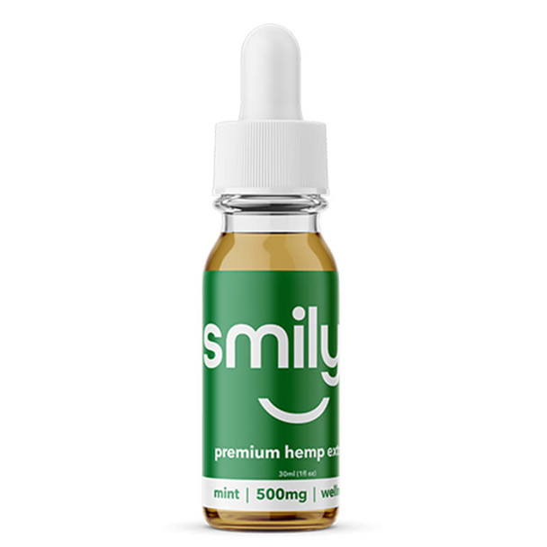Smilyn - CBD Tincture - Mint - 500mg-1500mg