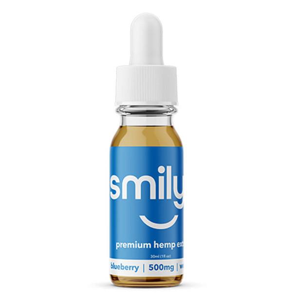 Smilyn - CBD Tincture - Blueberry - 500mg-1500mg