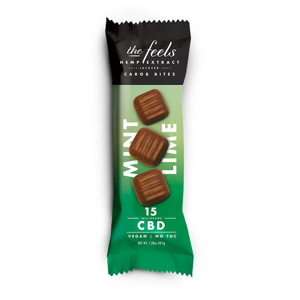 The Feels - CBD Edible - Mint Lime Carob Truffley Treats - 15mg