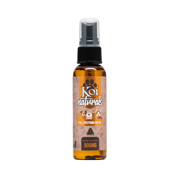 Naturals CBD Pet Spray - 500mg by Koi CBD