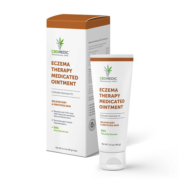 CBD Medic - CBD Topical - Eczema Therapy Medicated Ointment