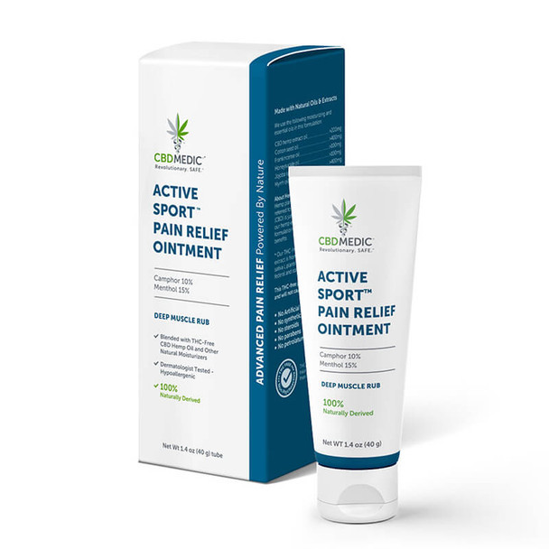 CBDMEDIC - CBD Topical - Active Sport Pain Relief Ointment
