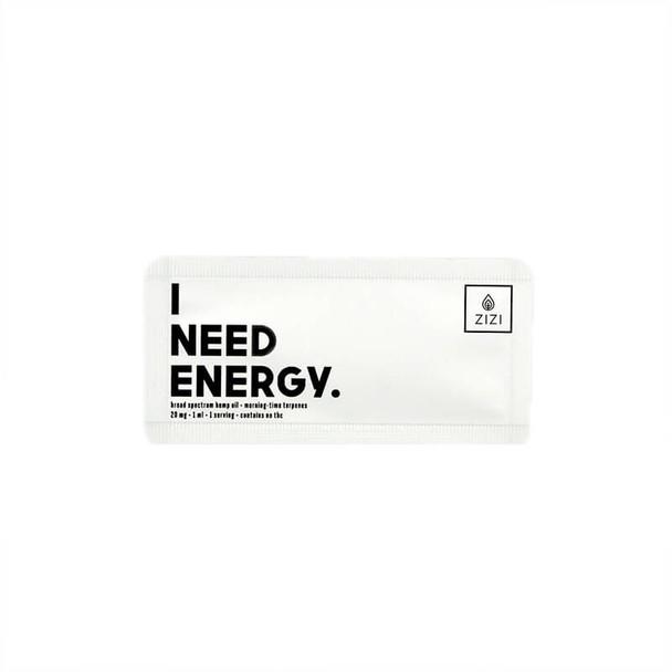 ZIZI Snaps - CBD Tincture - I Need Energy Snap - 20mg