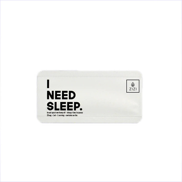 ZIZI Snaps - CBD Tincture - I Need Sleep Snap - 20mg