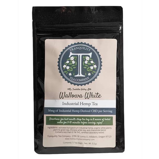 Tranquility Tea Company - CBD Tea - Wallowa White - 250mg