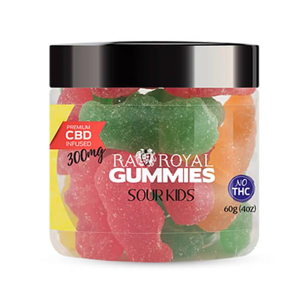 RA Royal CBD - CBD Edible - Sour Kids Gummies - 300mg-1200mg