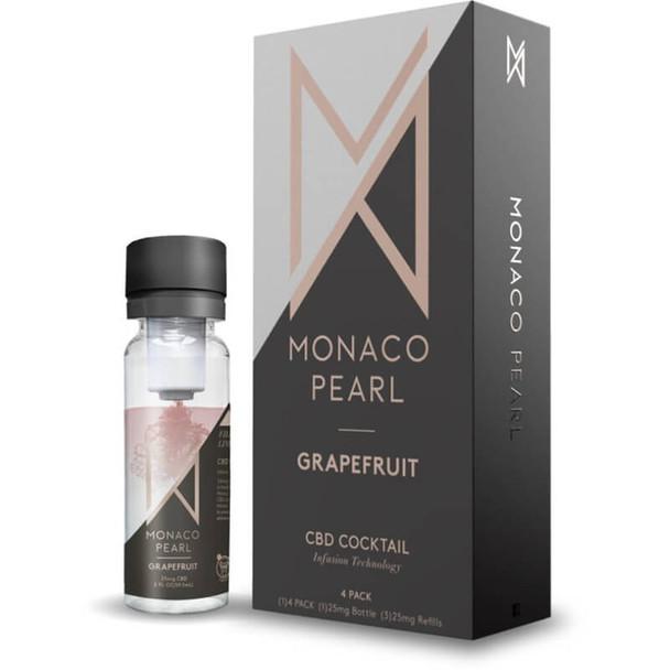 Monaco Pearl - CBD Drink - Grapefruit (4 Pack)